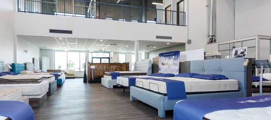Sleep Boutique mattress showroom