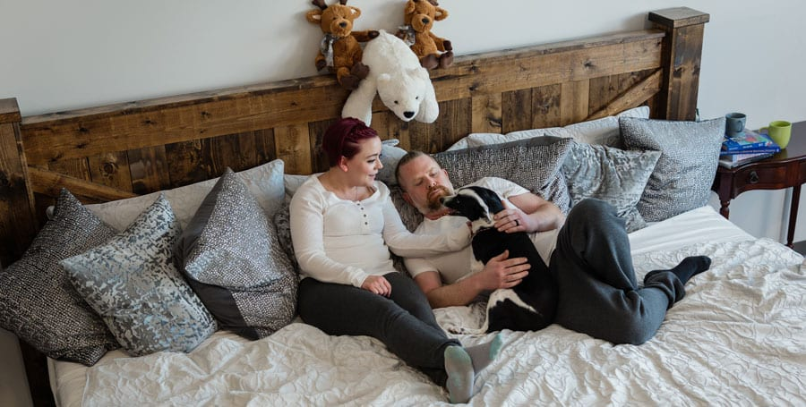 family bed | oversized mattress